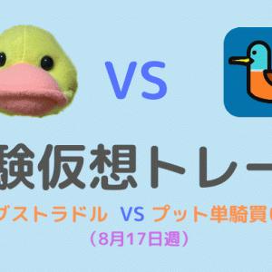 実験仮想トレード対決その12(ロングストラドル 対 プット単騎買い)