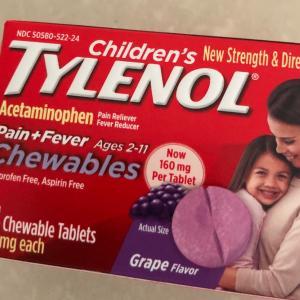 息子がダウン・・・薬局で買うアメリカの子供用風邪薬