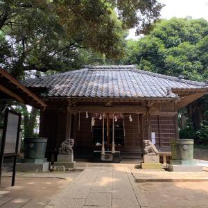 ・千葉県習志野市谷津 丹生神社 〜昔はすぐそこまで海岸だった