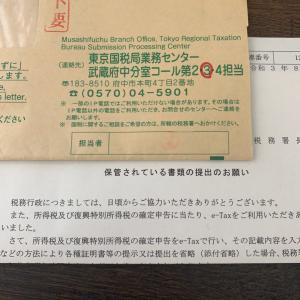 国税局からの手紙