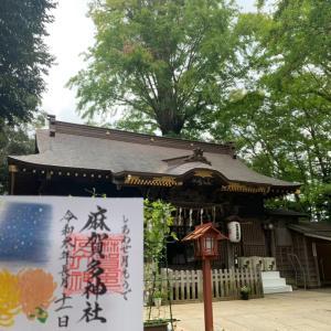 最後の参拝記録 9月月詣 佐倉市 麻賀多神社 〜菊と満月