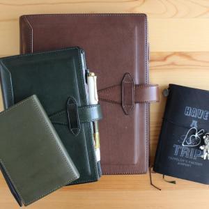 メインで使用している4冊の手帳の使い方