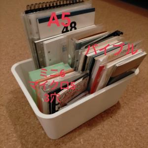 システム手帳リフィルの収納方法!ダイソーのBOXが便利でした!