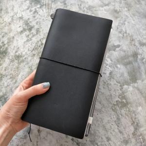 トラベラーズノートレギュラーサイズの使い方、挟んでいるノートについて!①