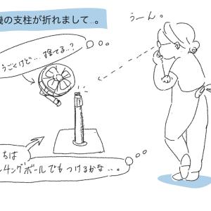 マキシマリスト万歳。壊れた扇風機の使い道。