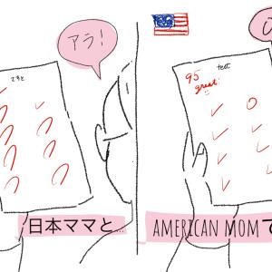 テスト結果の、親の子供への反応も日本とアメリカじゃ違う気がする。