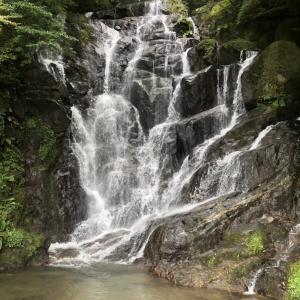 白糸の滝  in 福岡
