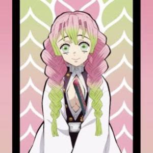 鬼滅の刃:「甘露寺蜜璃(かんろじみつり)」一日に百七十個の桜餅を八ヵ月食べ続けたら、髪と目の色が変わりました。