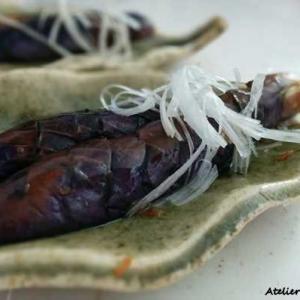 フライパンで 簡単おつまみ! なすの生姜焼き