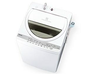 TOSHIBAの全自動洗濯機 AW-6G9  性能比較