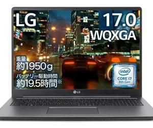 LGのパソコン 17U790-PA76J 性能比較