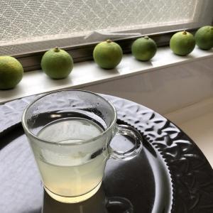 レモン湯の代わりに カボス湯