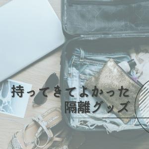 持ってきてよかった隔離グッズ【日本へ帰国・入国 コロナウイルス・ホテル療養】