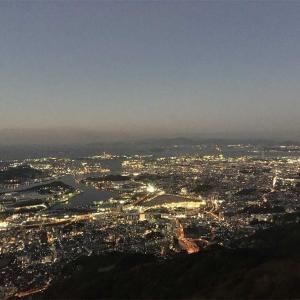 【新日本三大夜景】皿倉山からの100億ドルの夜景♪(福岡県北九州市)