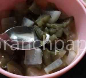 【離乳食】茄子の味噌煮大根混ぜ。なるべく薄味で整えた優しい味わい