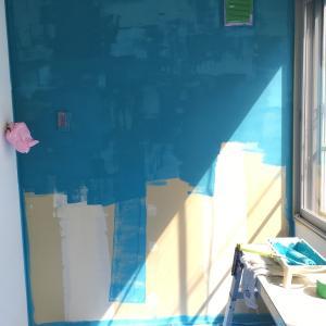 壁と天井を塗る⑤〜メインディッシュは珪藻土〜