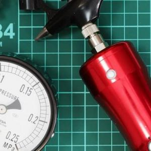 【TIPS】みんなが知りたかった!充電式コンプレッサーの圧力を測ってみた!
