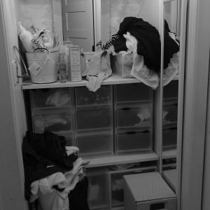 お片付け 脱衣室 今度こそリバウンドしないお片付け