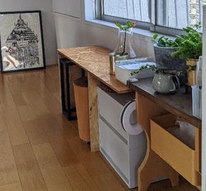 簡単・お手軽DIYで、飾り棚を作ってみたよ | ROOMHOLIC|神奈川の整理収納アドバイザー藤井ともみ