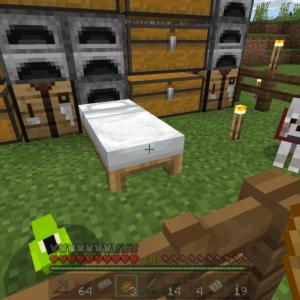 【マイクラ】サバイバル建築、野宿で農業やるよ