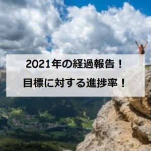 【雑記】2021年目標に対する進捗①