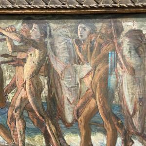 アーティゾン美術館に行ってきました。青木繁『海の幸』。ピサロ、セザンヌ、ルノワールなど名画の数々。(石橋財団コレクション編1)