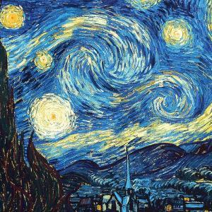 原田マハ『ゴッホのあしあと』 サン=レミでのどん底の日々から生まれた永遠の名画『星月夜』『糸杉』『アイリス』