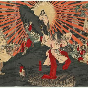 # 連載記事『日本最古の歴史小説 古事記を読もう』(その 4) 宇気比(うけひ)と天岩戸(あまのいわと)の物語