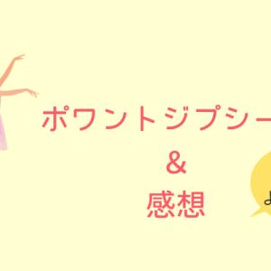 足に合ったトウシューズの選び方【感想】