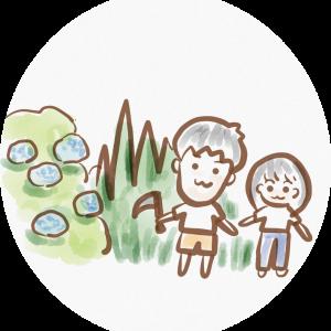 きのこハウス 〜草刈り〜