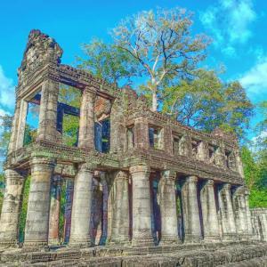 カンボジア遺跡観光スポット 小回り/大回りコース