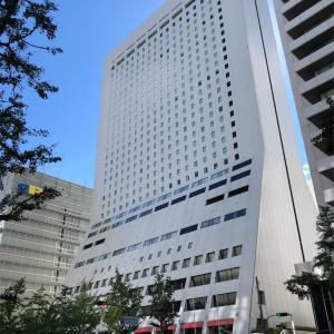 9/XX ホテル日航大阪に泊まってみた