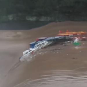 四川省で豪雨 110の村が被災、3億元以上の損失