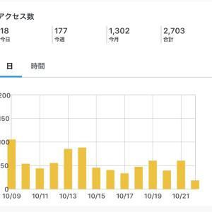 初心者がブログ始めて100記事達成!PV数は?
