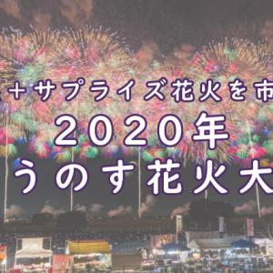 こうのす花火大会を市民へ!各種展示とサプライズ花火が実施される