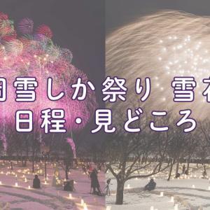 長岡雪しか祭り「雪花火」ってどんな花火?日程や見どころは?