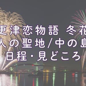 木更津恋物語 冬花火in恋人の聖地/中の島大橋ってどんな花火?日程や見どころは?