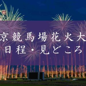東京競馬場花火大会ってどんな花火?概要や見どころをまとめてみた