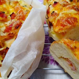 溜息と前進とチーズパン。