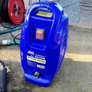 高圧洗浄機とワカメ