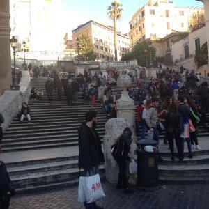 イタリアの旅(ローマ)1日目その2(2014.12)