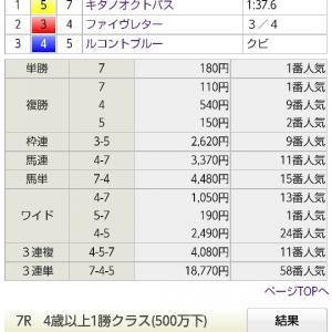 2020年万馬券リプレイ 73本目 05/09 東京6R 3歳1勝級 ダ1600