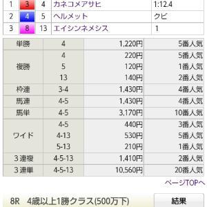 2020年万馬券リプレイ 74本目 05/09 京都7R 4歳上1勝級 ダ1200