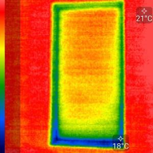 我が家の窓の熱画像(サーモグラフィ)の実測比較