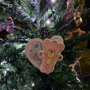 クリスマスツリーデザインコンペティションに参加しています