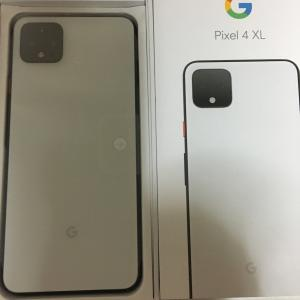 Pixel 4 XL Clearly White 128GB:レビュー