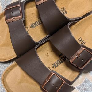 BIRKENSTOCK:Arizona Natural Leather(アリゾナ天然皮革)ダークブラウン:レビュー