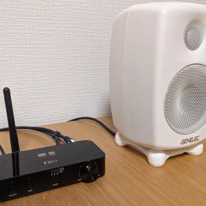2021年4月〜:GENELECのG One(アクティブスピーカー)とFiiOのBTA30(Bluetoothレシーバー&DAC)