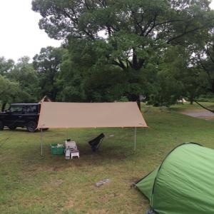 ジムニーでソロキャンプ!