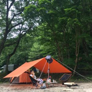 森林キャンプ